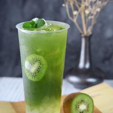 小麦草奇异果芦荟饮料
