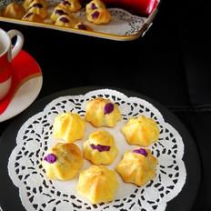 紫薯卡仕达泡芙