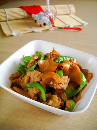 杏鲍干香肉片的做法