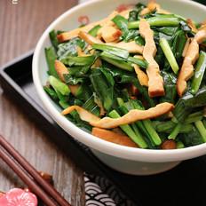 快手菜|韭菜炒香干