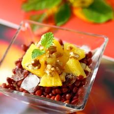 蜜红豆刨冰