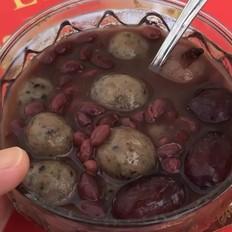 红豆红枣圆子汤