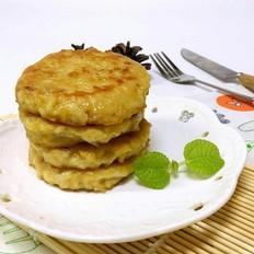 白萝卜猪肉饼