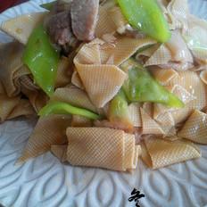 家常尖椒干豆腐