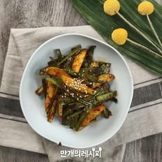 凉拌黄瓜韭菜