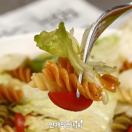 螺旋面沙拉的做法