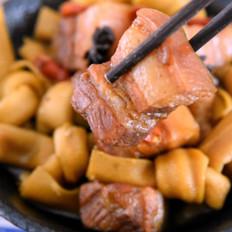 百叶红烧肉
