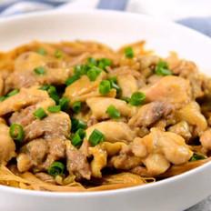黄花菜蒸鸡