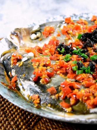 豆鼓蒸鱼的做法