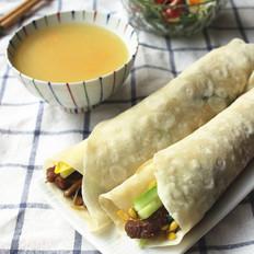 河南烙馍卷菜
