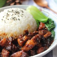 台式卤肉饭