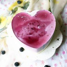 蓝莓果酱酸奶慕斯