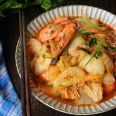 白菜炒虾的做法大全