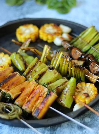 烤蔬菜全家福的做法