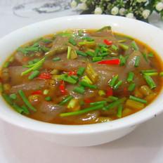 咸鲜魔芋豆腐汤