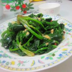 豆腐乳拌菠菜