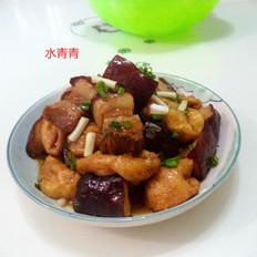 油豆腐焖东坡肉