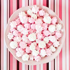粉嫩蛋白糖