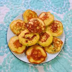 胡萝卜玉米面饼