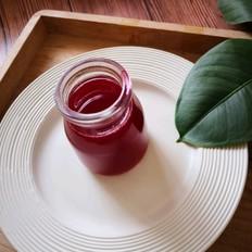 甜酸树莓汁