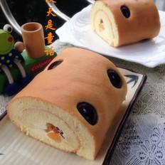 樱桃宝蛋糕卷