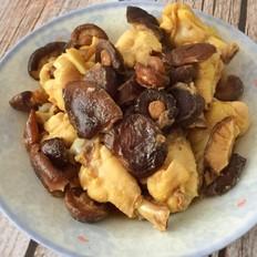 香菇蒸鸡肉