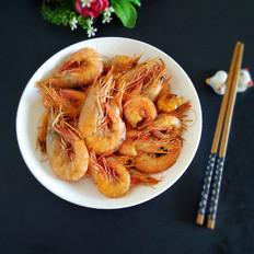 蒜末爆麻虾