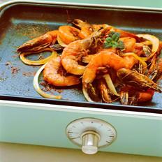普罗旺油煎大虾