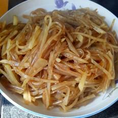 土豆丝炒粉条