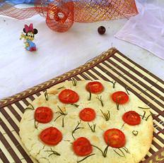 番茄迷迭香大米饼