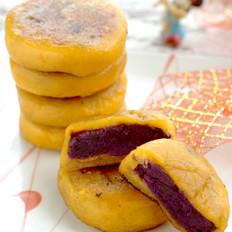 香糯紫薯南瓜饼
