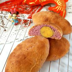 紫薯地瓜包