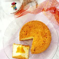 柚子茶戚风蛋糕