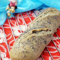 灰色长棍面包