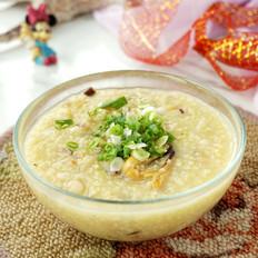 干贝淡菜小米粥