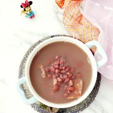 榴莲壳红豆汤