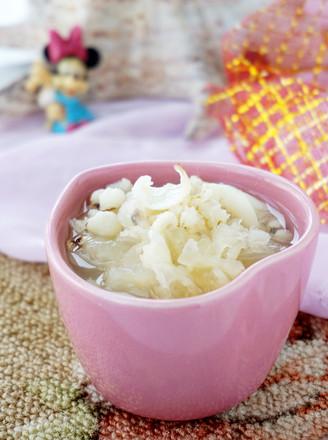 百合薏米银耳汤的做法