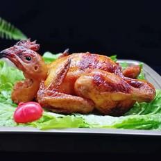预热感恩节~烤全鸡