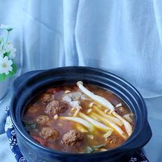 酸湯肉丸砂鍋