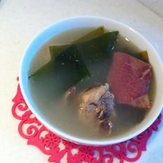 脊骨海带汤