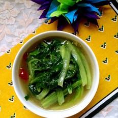 骨汤炖小白菜