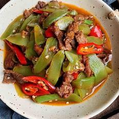 莴苣炒肉片-米饭杀手