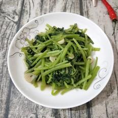 蒜香茼蒿菜