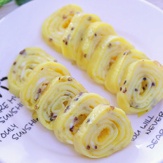 三色藜麦厚蛋烧 宝宝辅食食谱
