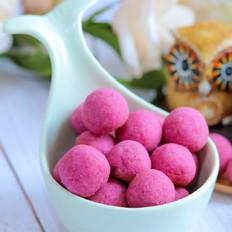 蛋黄紫薯小馒头  宝宝辅食食谱