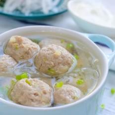羊肉丸子萝卜汤  宝宝辅食食谱