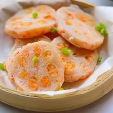 鲜虾藕夹  宝宝辅食食谱