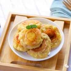苹果燕麦饼  宝宝辅食食谱
