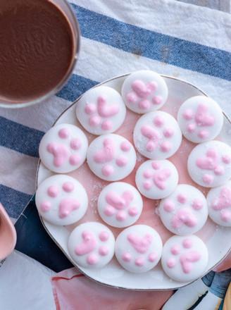 猫爪棉花糖&热可可【初味日记】的做法