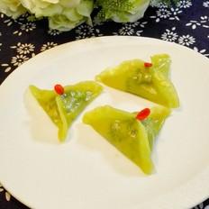 翡翠水晶玉饺